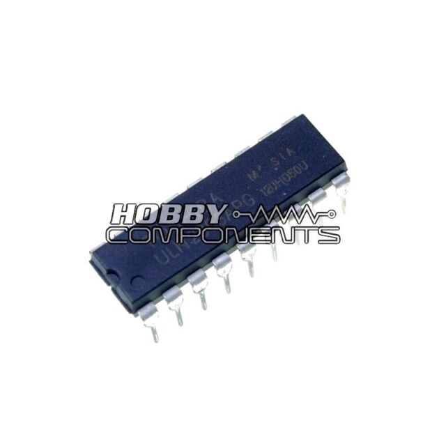 HOBBY COMPONENTS LTD ULN2803 8-Channel Darlington Driver (DIP 18) (Pack of 5)