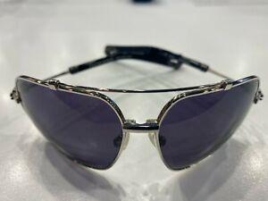 NEW CHROME HEARTS SUNGLASSES QUICKIE SS-BK Titanium Frame RARE BLACK