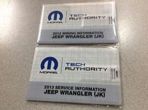 2013 Jeep Wrangler Service & Wiring Info USB Combo Service ...