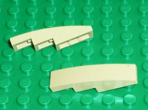 2 x LEGO  tan slope brick ref 61678 Set 75080 10242 10229 9494 8639 7962 8095