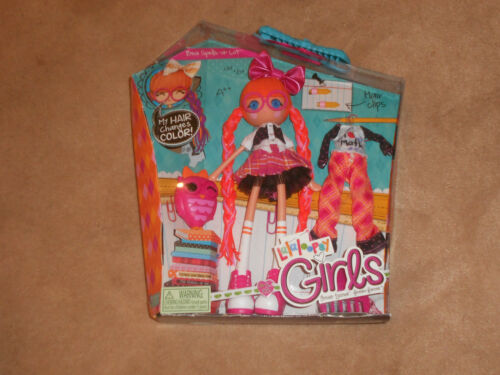 "NEW, LALALOOPSY GIRLS 9"" DOLL, BEA SPELLSALOT + PET OWL + EXTRA OUTFIT"