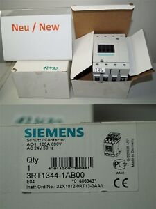 Siemens-3RT1344-1AB00-Protection-Contacteur-100A-AC-24V