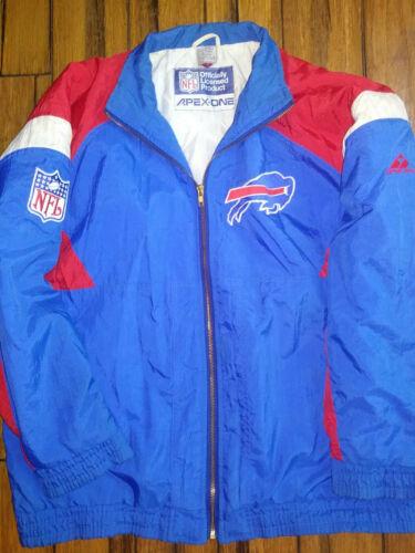 Vintage Buffalo Bills Apex One Jacket Coat NFL Foo
