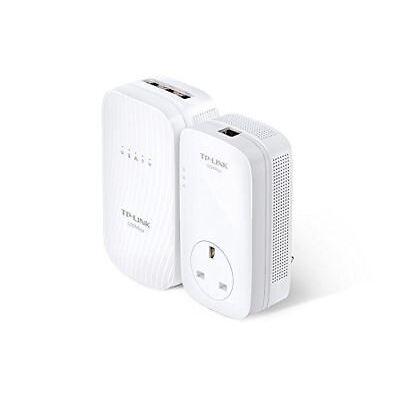 TP-Link TL-WPA8730KIT AV1200 Dual-Band Gigabit Powerline AC1750 Wi-Fi Extender