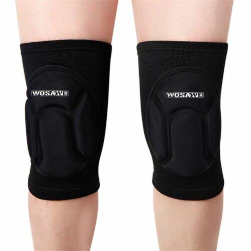 Details about  /Knee Guard Pads Mountain Bike Mtb Cycling Protection Kneepad Sponge Soft Brace