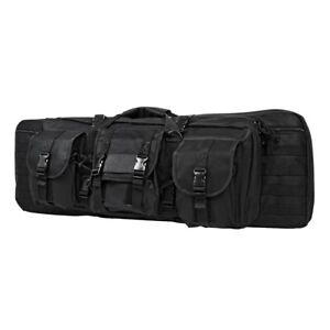 New-NCStar-Tactical-36-034-Double-Carbine-Gun-Carry-Case-Bag-Black