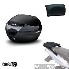 SHAD Kit fijacion y maleta baul trasero + respaldo pasajero regalo SH33  PIAGGIO