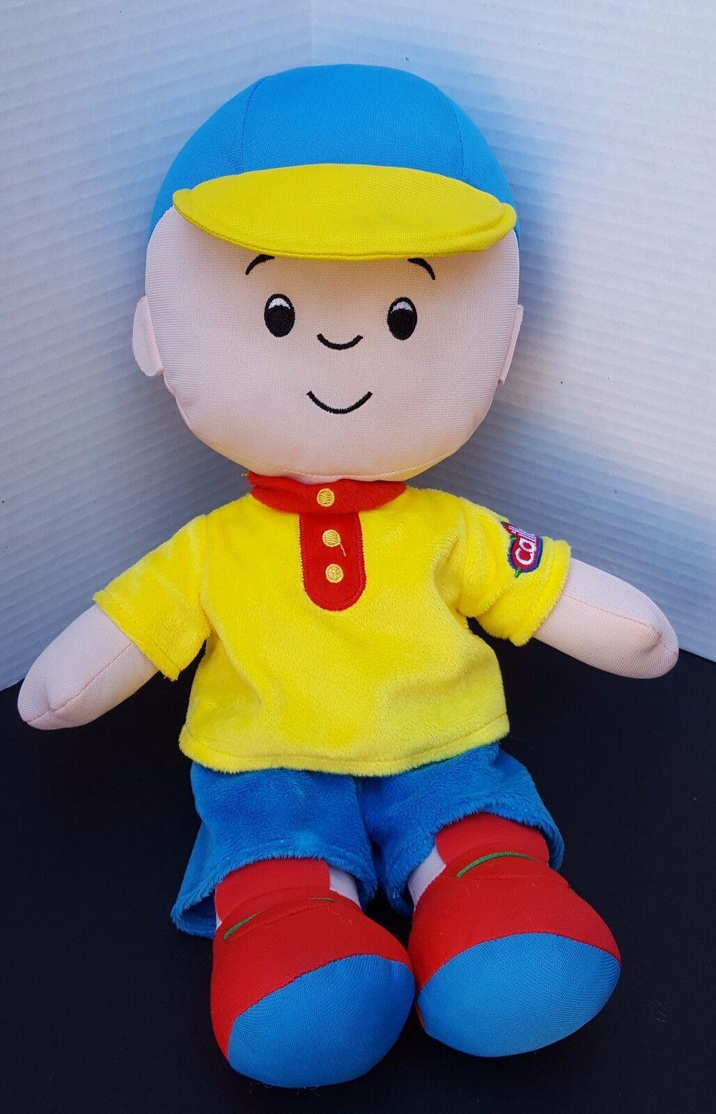 Large Caillou Plush Doll PBS KPBS Kids Cartoon Figure Pillow Buddy 15