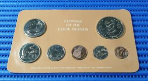 1981-Coinage-of-the-Cook-Islands-1-2-5-10-20-50-Cents-amp-1-Coin