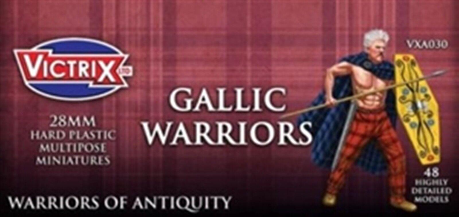 NEW VICTRIX MINIATURE ANCIENT GALLIC WARRIORS FIGURES COLLECTIBLES GAMES VXA030