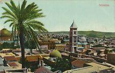 POSTCARD  ISRAEL  JERUSALEM  circa  1914