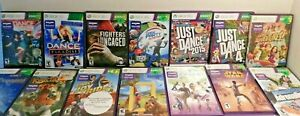 Kinect-Games-Xbox-360-Cleaned-and-Tested-Many-CIB