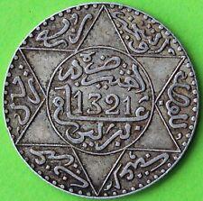 MAROC 2,5 DIRHAMS 1321