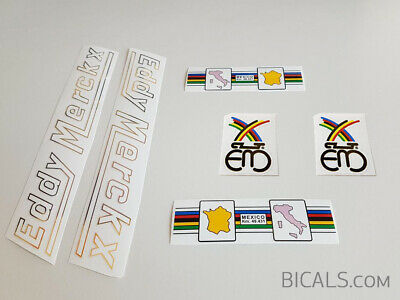 silk screen decal sticker for bicycle COLNAGO MASTER top tube free shipping