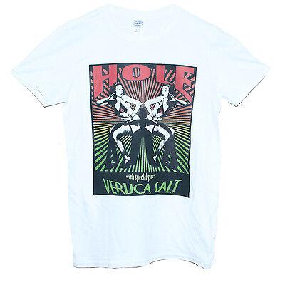 Trou t shirt Veruca Salt Courtney Love Punk Rock Grunge Bande graphique Unisexe Tee