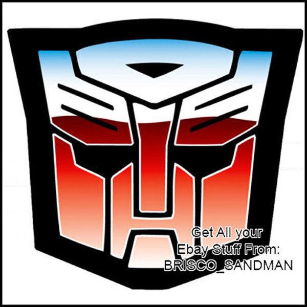 Fridge Fun Refrigerator Magnet Transformers Autobots Logo Large Ebay
