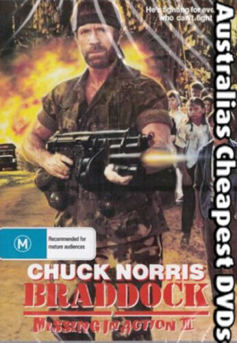 1 of 1 - Braddock Missing In Action 3  DVD NEW, FREE POSTAGE WITHIN AUSTRALIA REGION 4