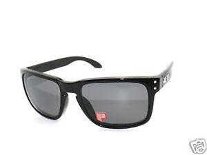 oakley sunglasses 9102 02 holbrook polished black grey polarized rh ebay com