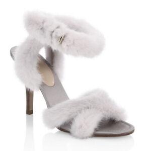 VALENTINO⚡️{$1,045} NIB mink fur gray
