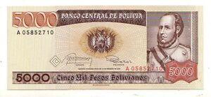 Bolivia-5000-pesos-1984-FDS-UNC-pick-168-rif-2696