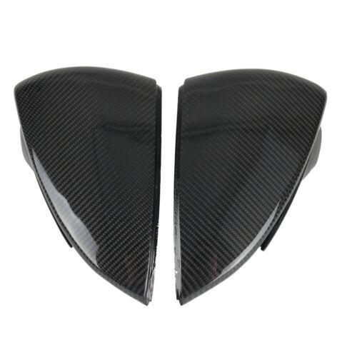 Carbone Miroir Bouchons Adapté F Ibiza KJ 6 F 12+ 17+ Cupra SEAT LEON 5 F SC ST
