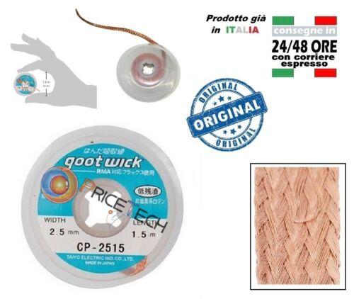 Braid Absorb Tin Braid Desoldering Goot Wick 2,5mm 1,5mt cp-2515