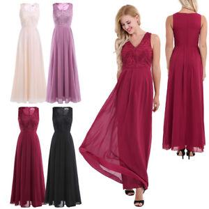 e11dcc71ad Elegant Lady Women s Long Maxi Evening Dress Bridesmaid Cocktail ...