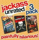 Jackass Unrated 3 Pack 0032429085740 With Johnny Knoxville DVD Region 1