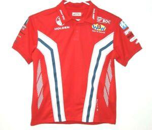 Team-BOC-Racing-Holden-V8-Supercars-Team-Polo-Shirt-Size-Men-039-s-Medium