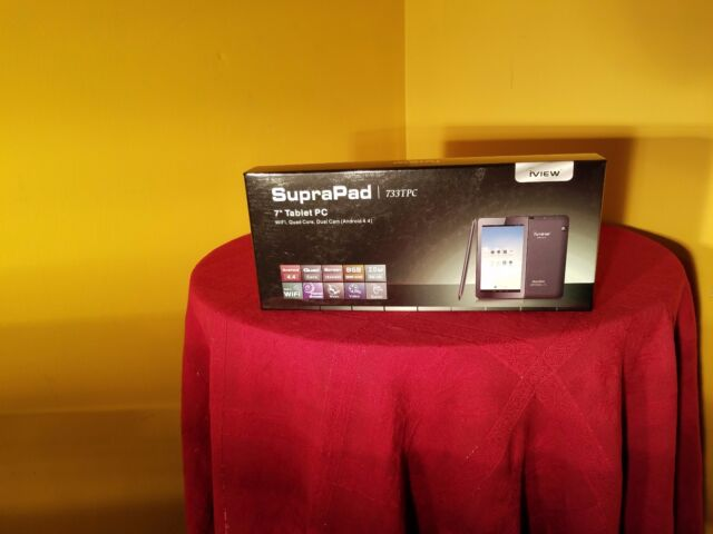 iView SupraPad 733tpc 8gb Black Tablet
