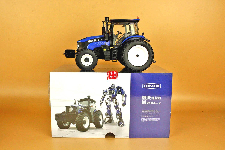 1/24 Modelo de Tractor M2104-K Foton lovol