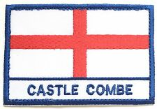 Castle Combe England Town & City Embroidered Sew on Patch Badge