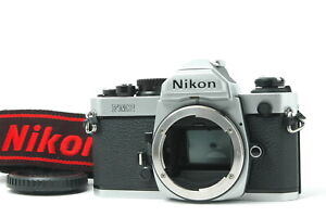 [Near MINT] Nikon New FM2 FM2N Film Camera Body Only Silver from JAPAN F70