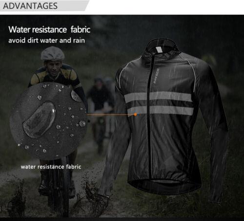 Cycling Jacket Windproof Waterproof High Visibility Reflective Vest Bike Jerseys