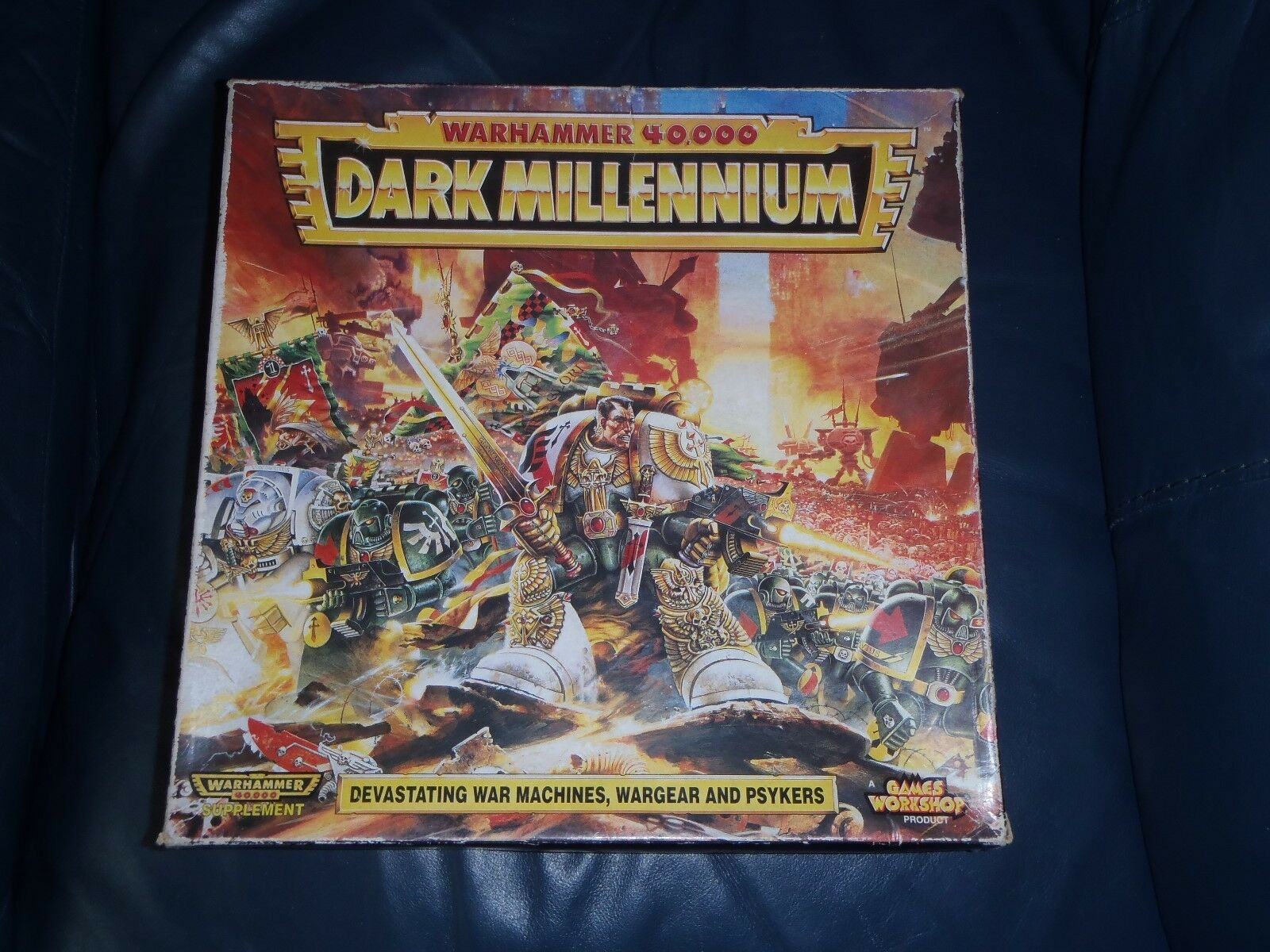 Games Workshop Warhammer 40K Dark Millennium Supplement (Read Description)