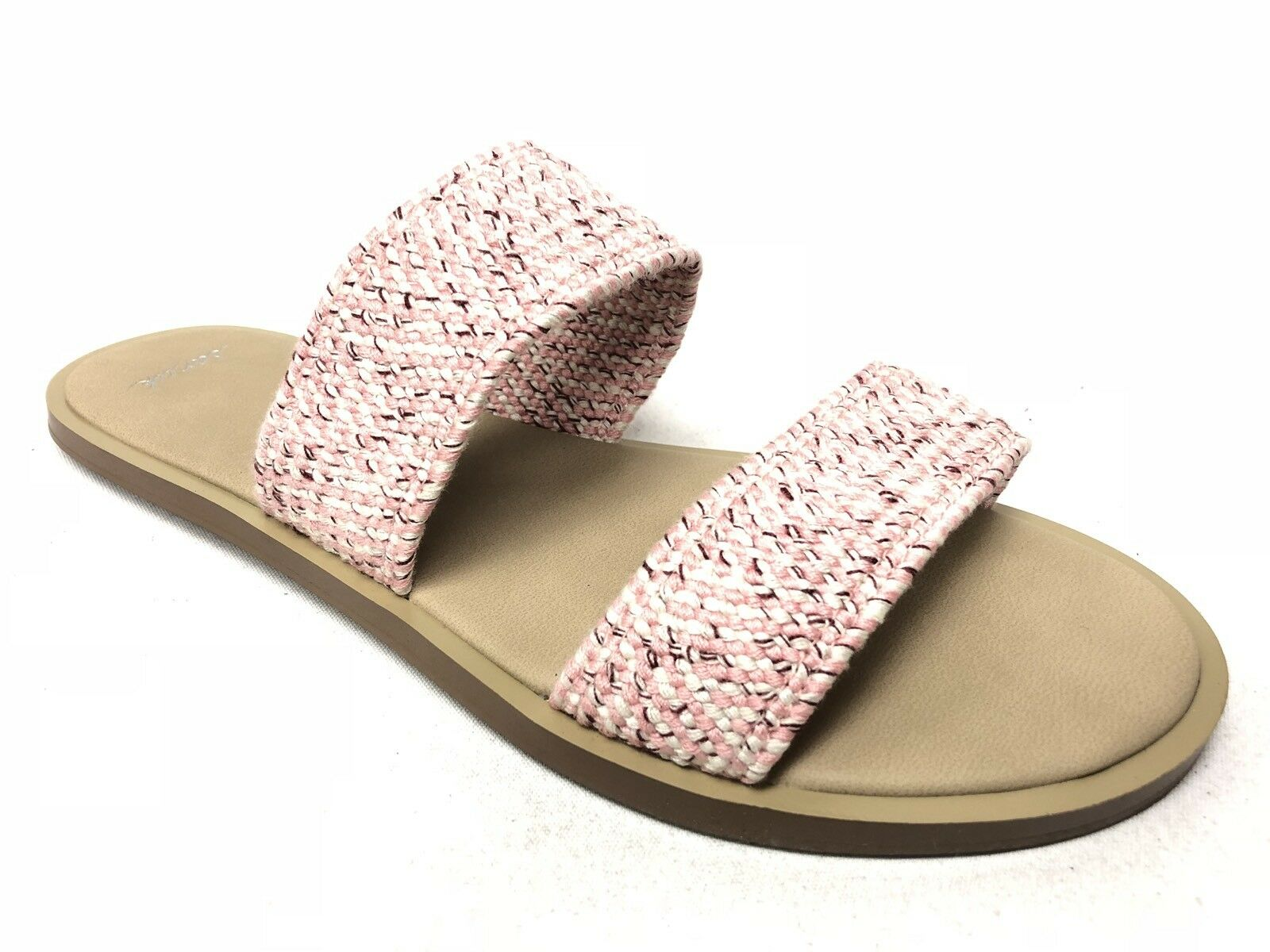 Sanuk Slides Yoga Gora Gora TX Strawberry Cream Women's Slides Sanuk 1016309 Sandals Slip On 05db68