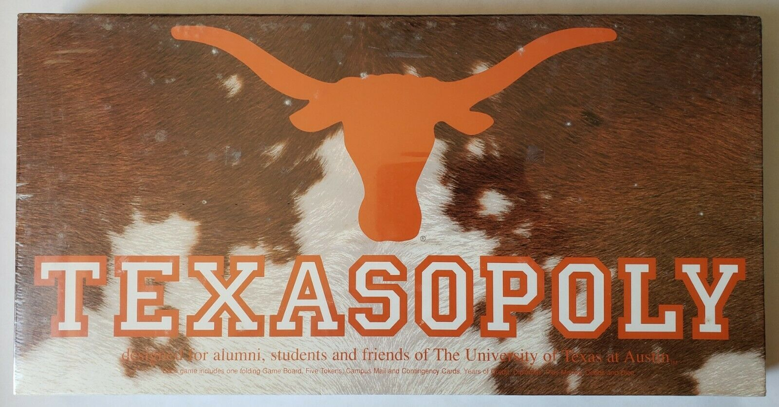 University of Texas Austin Texasopoly Board Game Game Game Late for the Sky New Sealed 8bc9f5