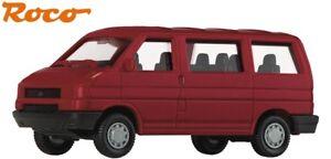 Roco-TT-00941-VW-Bus-T4-weinrot-1-120-NEU-OVP