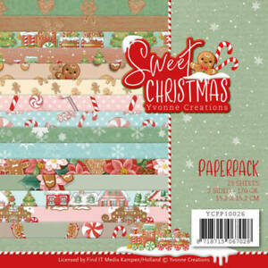 Paper-pad-Papier-block-Sweet-Christmas-Weihnacht-Xmas-Yvonne-Creations-YCPP10026