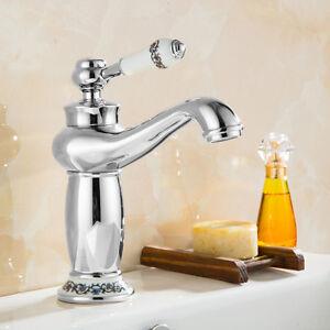 robinet mitigeur cascade lavabo evier laiton chrom bassin salle de bain cuisine ebay. Black Bedroom Furniture Sets. Home Design Ideas