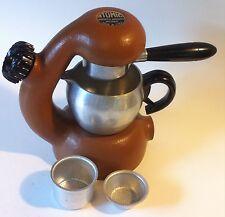 Vintage Atomic Brevetti Robbiati Milano Espresso Maker, Brown | Made in Italy