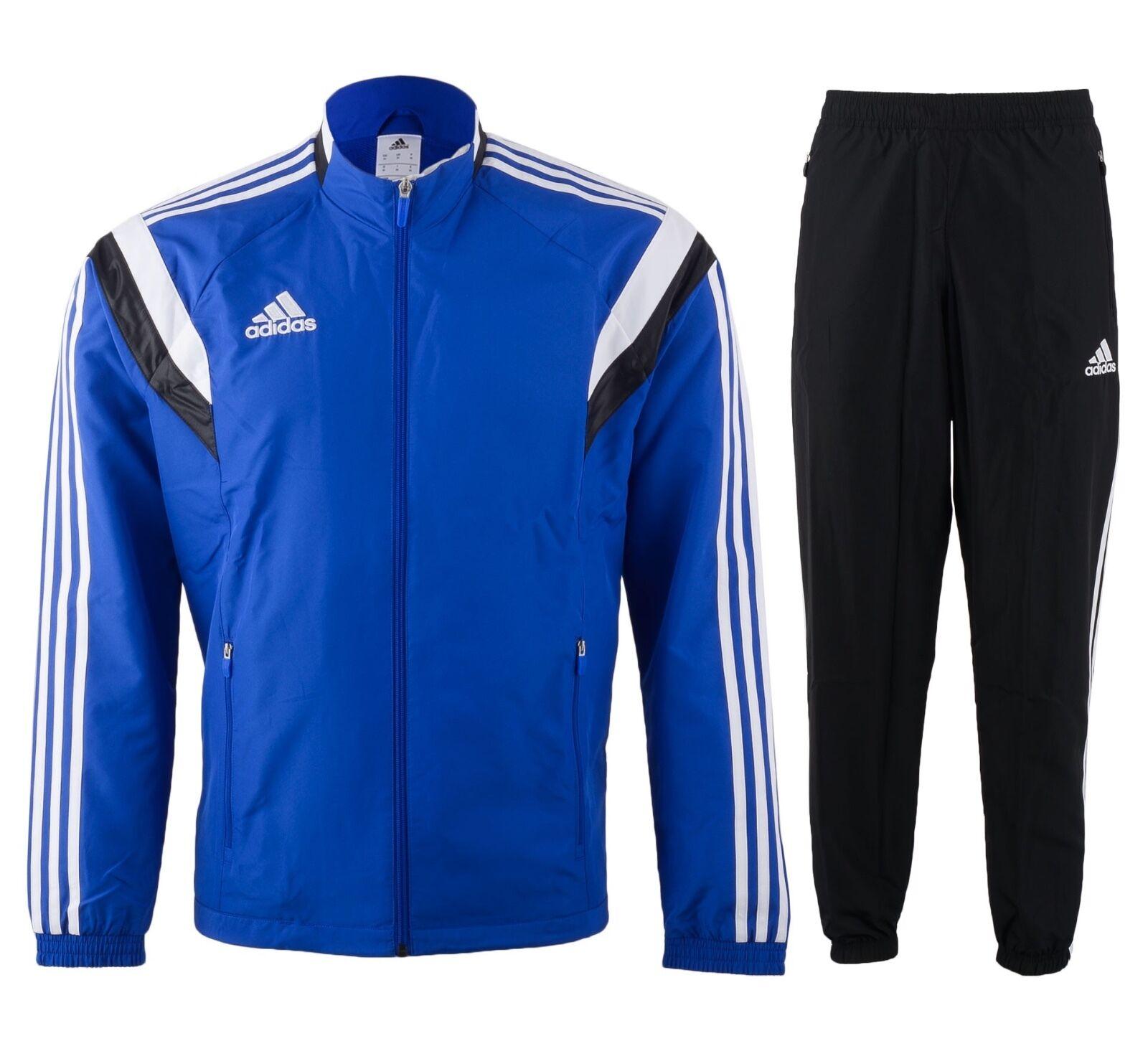 Adidas Performance Condivo 14 Polyesteranzug Herren blau     schwarz NEU 2e6533