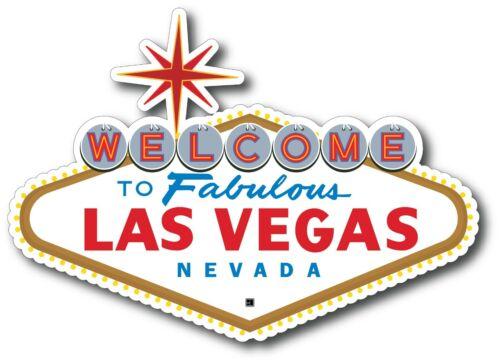 WELCOME TO LAS VEGAS FABULOUS USA DECAL STICKER 3M TRUCK VEHICLE WINDOW WALL CAR