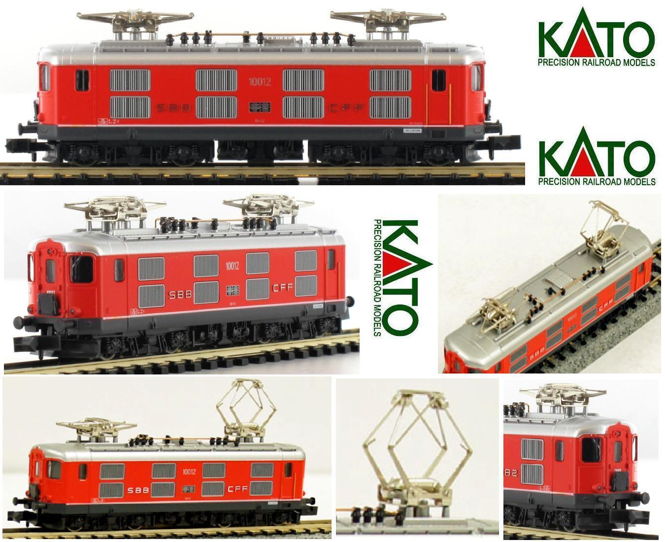 Kato k11604 Locomotive Electric King 4 4 the regional lines SBB-CFF Suisse scale-N