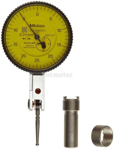 Horizontal Type H● Mitutoyo 513-426E Dial Test Indicator Basic Set