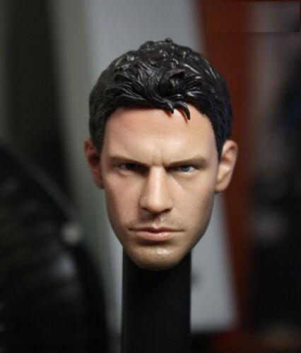 Custom Chris Redfield 1//6 Head Sculpt Resident Evil for Hot Toys Muscular Body
