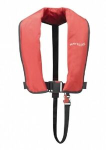 Waveline-ISO-Approved-165N-Adult-Automatic-Lifejacket-in-RED-New-from-Stock