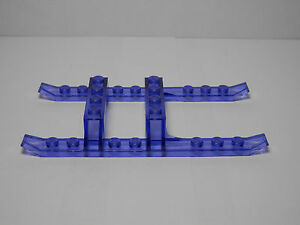 Lego Legos LEGO Building Toys One NEW Helicopter Sled Rails 12 x 6 TRANS-PURPLE  9.5 cm long