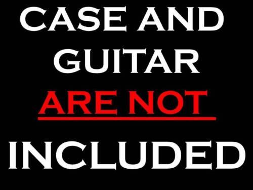 GUITAR LINGERIE~RED SATIN GUITAR SHROUD *FOR A FENDER G/&G CASE
