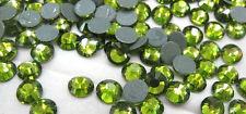 STRASS termoadesivi MC Stone collection 100pz SS6 2mm verde olivine hotfix oliva